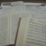 聖書と賛美歌